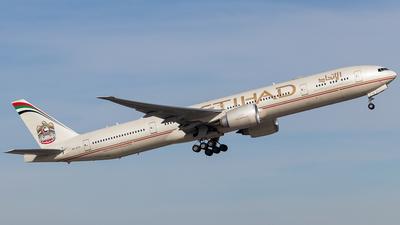 A6-ETO - Boeing 777-3FXER - Etihad Airways