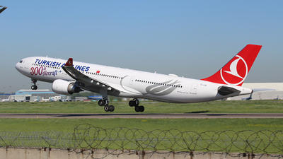 A picture of TCLNC - Airbus A330303 - Turkish Airlines - © Frolov Sergey