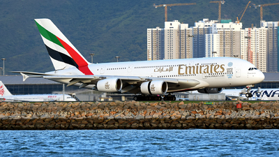 A6-EEJ - Airbus A380-861 - Emirates