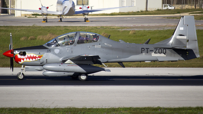PT-ZOQ - Embraer A-29B Super Tucano - Embraer
