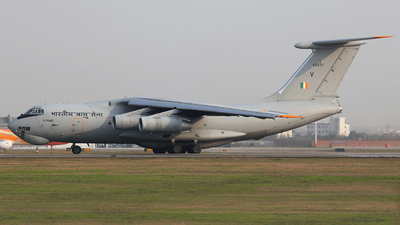 K3077 - Ilyushin IL-76MD - India - Air Force