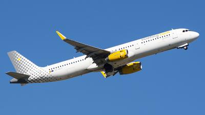 EC-MGY - Airbus A321-231 - Vueling