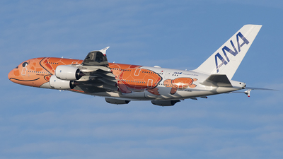 JA383A - Airbus A380-841 - All Nippon Airways (ANA)