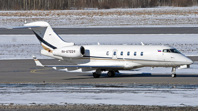RA-67224 - Bombardier BD-100-1A10 Challenger 300 - UTair Aviation