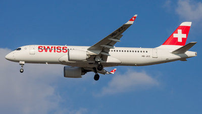 HB-JCC - Bombardier CSeries CS300 - Swiss