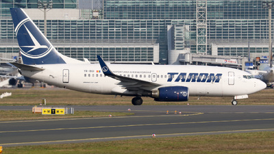 A picture of YRBGI - Boeing 73778J - Tarom - © Jan-Eike Berger