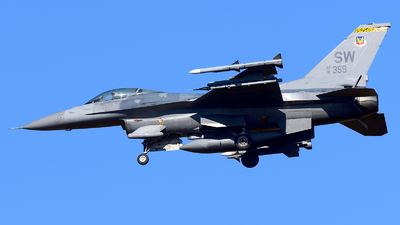 91-0359 - General Dynamics F-16C Fighting Falcon - United States - US Air Force (USAF)