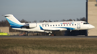 RA-67219 - Bombardier CL-600-2B19 Challenger 850 - Yamal Airlines