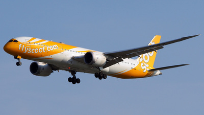 9V-OJA - Boeing 787-9 Dreamliner - Scoot
