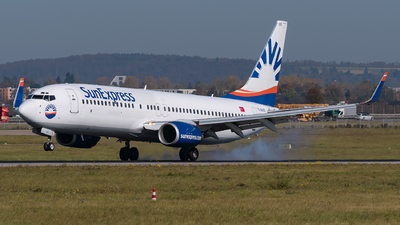 A picture of TCSUO - Boeing 73786Q - [30272] - © Julian Mittnacht