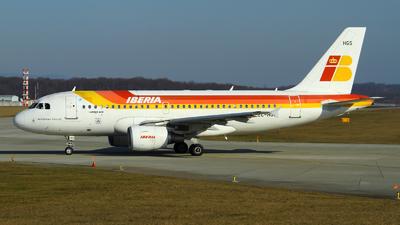 EC-HGS - Airbus A319-111 - Iberia