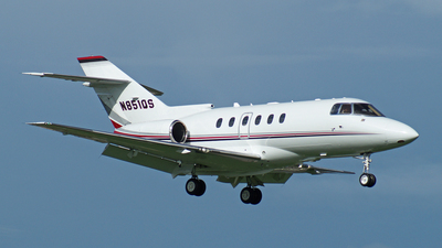 N851QS - Hawker Beechcraft 800XP - Private