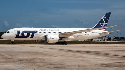 A picture of SPLRE - Boeing 7878 Dreamliner - LOT - © Tomasz Kozakowski