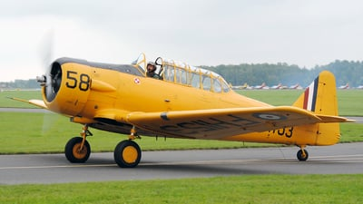 G-BBHK - North American AT-6B Texan - Private