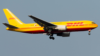 A picture of A9CDHJ - Boeing 767281(BDSF) - DHL - © Hamza A. Mughal