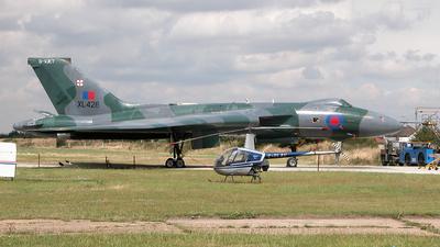 G-VJET - Avro 698 Vulcan B.2 - Vulcan Restoration Trust