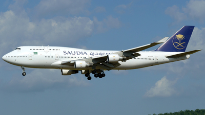 TF-AAH - Boeing 747-4H6 - Saudi Arabian Airlines (Air Atlanta Icelandic)