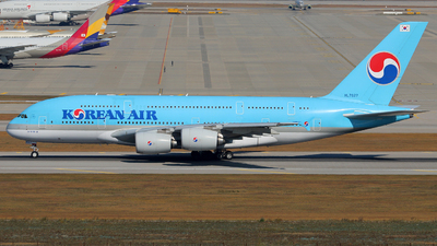 HL7627 - Airbus A380-861 - Korean Air