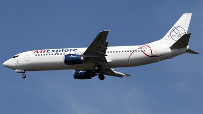 OM-EEX - Boeing 737-4Q8 - Air Explore