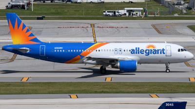 A picture of N284NV - Airbus A320214 - Allegiant Air - © Matt Lino