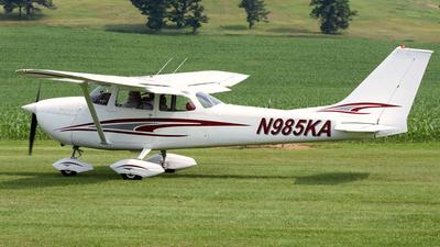 N985KA - Cessna 172K Skyhawk - Private