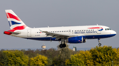 A picture of GEUPS - Airbus A319131 - British Airways - © Peter Tolnai