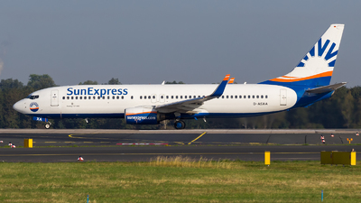 D-ASXA - Boeing 737-8Z9 - SunExpress Germany