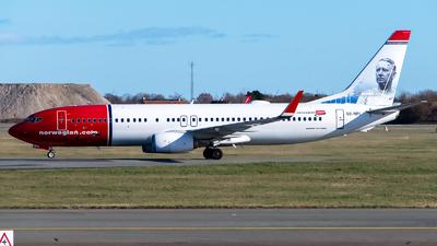 A picture of SERPL - Boeing 7378JP - Norwegian - © GoldenWingPix