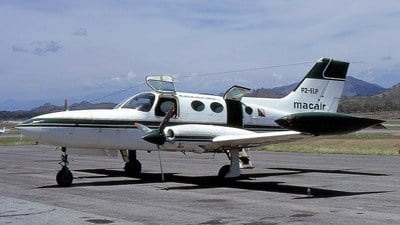 P2-ELP - Cessna 402A - Macair Airlines