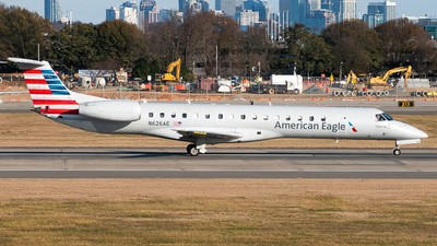 A picture of N626AE - Embraer ERJ145LR - American Airlines - © Devin R