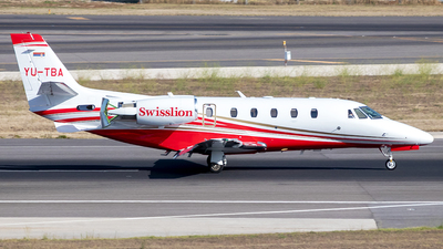 YU-TBA - Cessna 560XL Citation XLS+ - Private