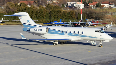 LX-AVT - Bombardier BD-100-1A10 Challenger 300 - Luxaviation