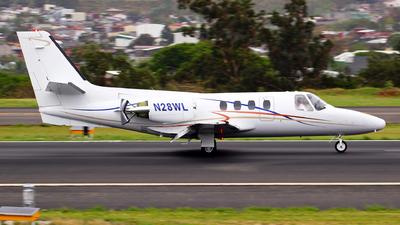 N28WL - Cessna 500 Citation I - Private