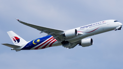 A picture of 9MMAF - Airbus A350941 - Malaysia Airlines - © kchavgeek96