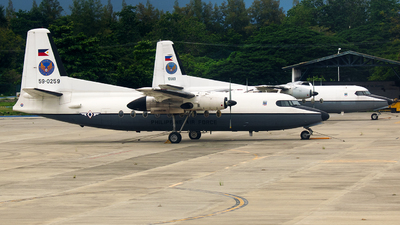 59-0259 - Fokker F27-200 Friendship - Philippines - Air Force