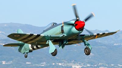 D-CRZY - Hawker Fury FB11 - Private