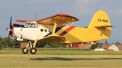 LY-AUA - PZL-Mielec An-2 - Private