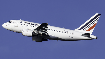 F-GUGE - Airbus A318-111 - Air France