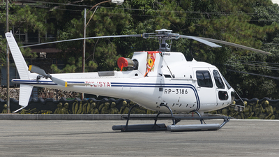 RP-3186 - Airbus Helicopters H125 - Philippine National Police