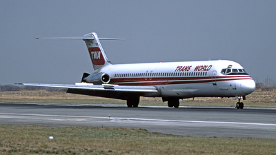 N418EA - McDonnell Douglas DC-9-51 - Trans World Airlines (TWA)