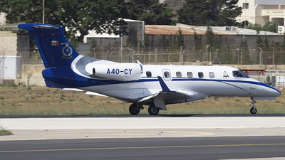 A4O-CY - Embraer 505 Phenom 300 - Oman - Police