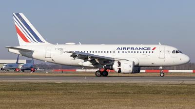 F-GRHU - Airbus A319-111 - Air France