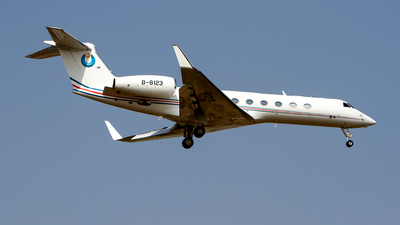B-8123 - Gulfstream G550 - Private