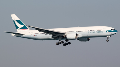 B-HNC - Boeing 777-267 - Cathay Pacific Airways