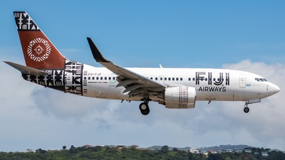 DQ-FJF - Boeing 737-7X2 - Fiji Airways