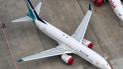 A picture of 9VMBG - Boeing 737 MAX 8 - SilkAir - © xuxinyi1000
