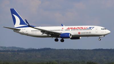 TC-JHF - Boeing 737-8F2 - AnadoluJet