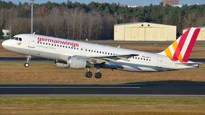 D-AIPT - Airbus A320-211 - Germanwings