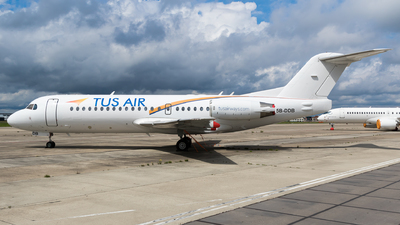 5B-DDB - Fokker 70 - Tus Airways