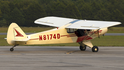 N8174D - Piper PA-18 Super Cub - Private